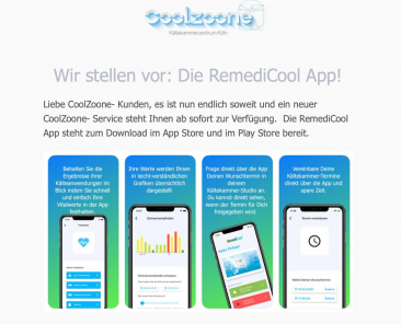 RemediCool-App-Coolzoone-AppStore